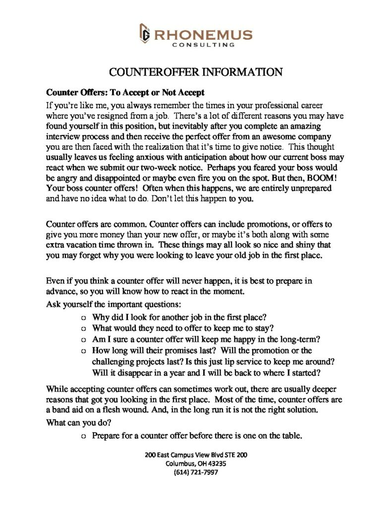 Counter offer PDF