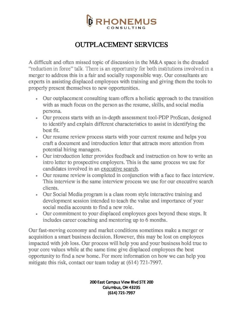 Outplacement PDF
