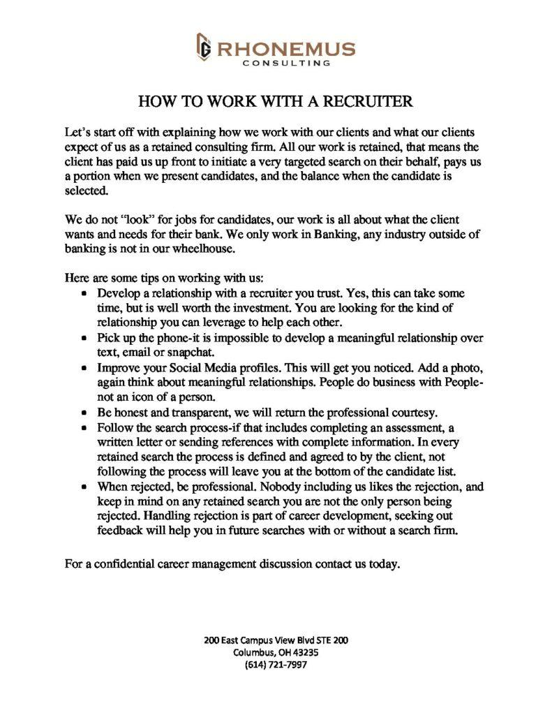 Recruiter PDF